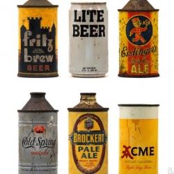Vintage Beer packaging.