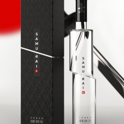 Loving this new vodka brand by Moscow based designer Arthur Schreiber.