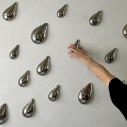 Think 3D! Introducing a new vision for interior wallpaper by designer Daniel Piršč. A new direction in interior design.