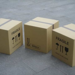 Is it a carton box? No and Yes, but overall it's a simple but great object to use as table or seat.