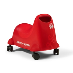 Scoot n Zoom - New Ride-On toy from Radio Flyer, beautiful shape inspires imaginative play, and the casters allow for motion in any direction.