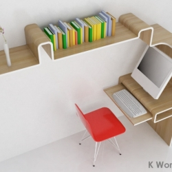 K Workstation design by MisoSoup Design.