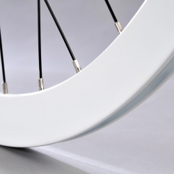 Ever wonder how a bicycle wheel is built , here is the answer in a great video from the H plus Son team.