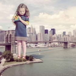 """Little New York"" from photography duo Nick & Chloe...big city, bigger kids."