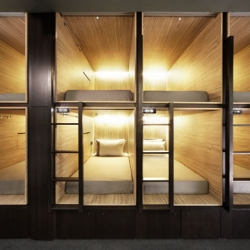 The Pod - the latest capsule hotel to land in Singapore.