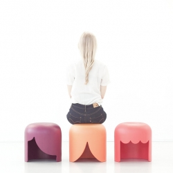 Playmobilia Stool design by Tania da Cruz