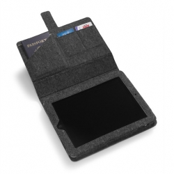 Nau's spring line includes this sweet iPad case made out of recycled wool.