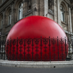 RedBall Project by Kurt Perscke launched in Paris for Martini 150 birthday