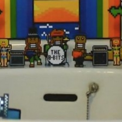 Cute little clip of a 8-bit meets real life via stop-motion water slide extravaganza.