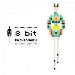 8 bit Fashionary by Penter Yip.