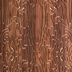 French fashion designer Christian Lacroix has designed new decorative wooden panels for Marotte. Contemporary and sophisticated.