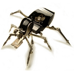 ChristopherConte's robotic insect sculptures reminded me of the work of Mike Libby's (#2463)