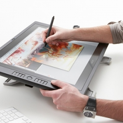 Wacom's new Cintiq UX pen tablet. Must. Resist.