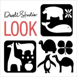 Dwell Studio's LOOK ~ a board book coming in Sept ~ more potential perfect gifting for the newborns coming up! (Also keep an eye out for What Colors? and Touch and Feel Farm)