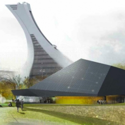 Competition finalist for the new Planetarium Rio Tinto Alcan in Montreal Canada by Saucier + Perrottearchitects