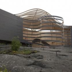 A pretty crazy design for Wisa 24 hotel by architect Pieta-Linda Auttila