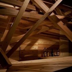 Shimuraya bar in Tokyo by japanese architect Noi Shegemasa.