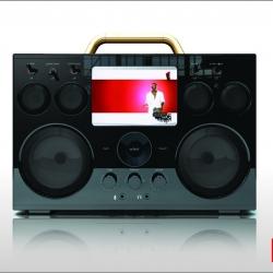 MP3/video Boom Box. With the 9999 Boom Box you bring the fun!