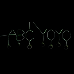 ABC YO-YO is a kinetic font created by yo-yo'ing. All visuals and sounds produced entirely out of yo-yos. A collaboration between Justin Weber and Marianna Ludensky.