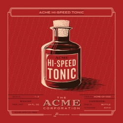 Rob Loukotka's Acme Inventory Series of prints... love the Hi=Speed Tonic.