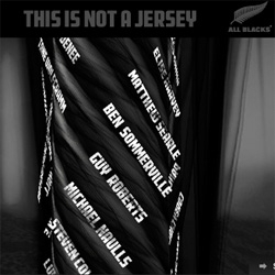 Adidas gives All Black fans a new way to get close to the team to show their support... using nanotechnology, add your name to be engraved on the thread of the new jerseys with adiThread!