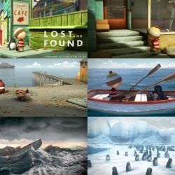 STUDIO AKA's 25-minute adaptation of Oliver Jeffers children's book LOST AND FOUND. Screens on CHANNEL FOUR this Christmas Eve and Boxing day...