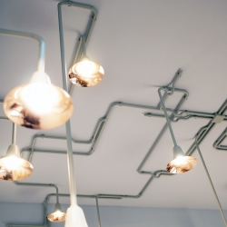 &Traditionl launchesLIGHT FOREST a  flexible lighting system designed by the studio Outwerpduo...