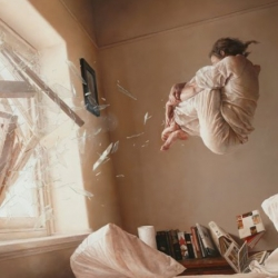 'A perfect vacuum' - Incredible new painting from Jeremy Geddes, soon to be turned into a limited edition print. Now would be a good time to get on his mailing list!