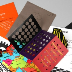 Wallpaper has a great series of their favorite Fashion Week invites from all the A/W 2010 shows.