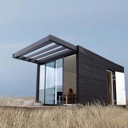 Lars Frank Nielsen architect and founder of Danish ONEN Design has designed this modular architectural system for the Swedish company Add-A-Room. The house can be ordered in different modules with specific functions.