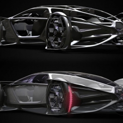 The Cadillac Aera Concept won the 2010 Los Angeles Auto Show Design Challenge, tying with Smart and besting entries from seven other automakers