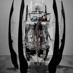Autonomous Fabrication Robot concept - by Brian Harms.