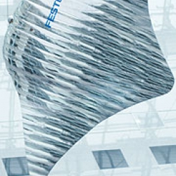 Festo's Air- Ray.  A blimp that flies through the air with the grace of  a ray.