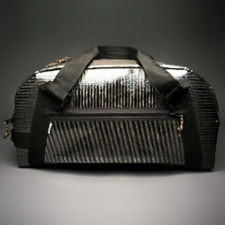 Carbon fiber bag 'Airstream' weighs just under 3 lbs! Stronger than steel.