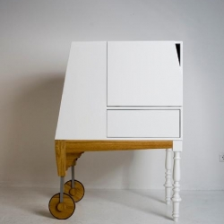 Straight from Berlin , Alice in Wonderland, a new cabinet/escritoire from studio-ziben.