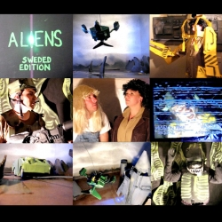 "A brilliant ""Sweded"" version of the science fiction classic ""Aliens."" The special effects, costumes, and sets are remarkable.  The out-takes included at the end credits are a hilarious touch."