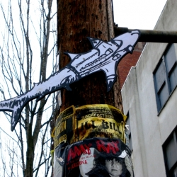 Urban Research in Seattle: stickers, street art & tags.