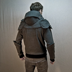 The surprisingly Stylish Knight's Armor Hoodie will keep you warm and help you slay some dragons.