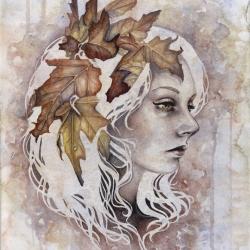 'Anamnesis' by Kelly McKernan - watercolor limited edition print.