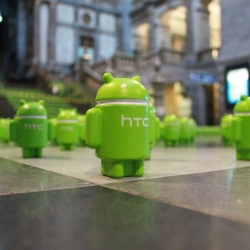 A PR Stunt aimed at promoting the launch of a bunch of new Android phones, the outfit meticulously filled railway stations in Antwerp, Brussels, and Namur with varied configurations of the little green monsters.