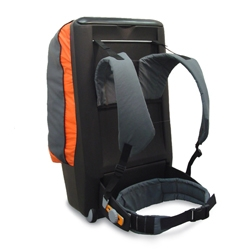 Apex is a rucksack concept designed to improve posture during cariage, by allowing the users hips and shoulders to move as they should do ~ by irish, brightside design
