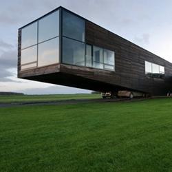 Utriai, Lithuania Residence by Architectural Bureau G.Natkevicius & Partners.