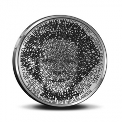 "The Dutch artist Stani explains how he used free and open source software to design his award winning 5 Euro coin.  Dedicated to ""Netherlands and Architecture"", the queen's portrait is made up of the names of prominent Dutch architects."