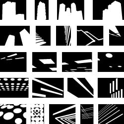 minimalist architecture font by kapitza