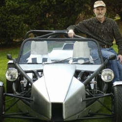 Winterhalter's replica Ariel Atom costs $8,000 in materials. It's not the low cost or the make that renders this replica special, but likely that only 40 Atoms exist in the United States.