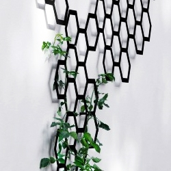 Arik Levy's 'Comb-ination' trellis system for Flora.