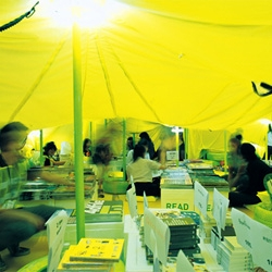 Apostrophy's created a unique pavilion at the ASA2010 in Bangkok, Thailand, for publisher Art4d consisting on five different zones: (R)ead, (R)esting, D(R)ink, T(R)ade and Pleasu(R)e.