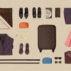 "Louis Vuitton is back with another chapter of tips and tricks ""The Art of Packing"", now including the new Zephyr."