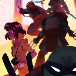 Heroes In A Half Shell: A TMNT Art Tribute Exhibition taking place at Nucleus Gallery.
