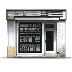 Michael Mieskes' exhibition 'Portrait und Gestalt' in Berlin.